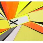 Thomas Scheibitz yellow and orange abstract painting