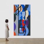 thomas scheibitz abstract painting scale