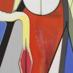 Scheibitz oil painting detail image