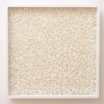 Rakuko Naito, RNcube2-99 Wire Mesh with Paper Cube, 1999