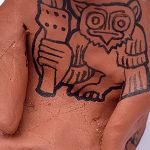 Jamie Martinez, Metamorphosing into an Owl, 2020