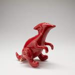 Brett Kern, Small Red Triceratops, 2020
