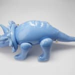 Brett Kern, Small Red Triceratops, 2020