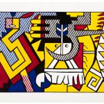 Roy Lichtenstein, American Indian Theme VI, 1980