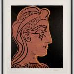 Pablo Picasso, Tête de Femme (de Profil), 1959