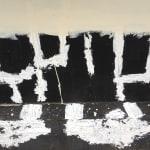 Cornelia Parker, Prison Wall Abstract (A Man Escaped), 2012-2013