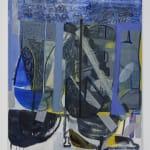 Amy Sillman, Somewhat Blue, 2021