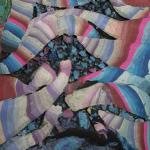 Kerstin Brätsch, Fossil Psychic_for Christa (Stucco Marmo), 2020