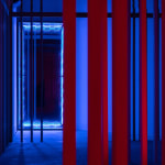 Iván Navarro, Tijolo Vertical (Azul) | Vertical Brick (Blue), 2020