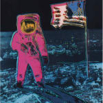 Moonwalk, II.403, 1987 by Andy Warhol, from the Portfolio of two Screenprints, edition 160, at Coskun Fine Art