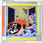 Roee-Rosen_Vladimir's-Night_gouache_2012_Erna-Hecey