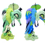 Camille Rose Garcia, Vultura Macabra Vinyl Figure / Available - Neon Forest, 2021 (click to enlarge)