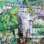 Welsh landscape painting