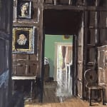 Matthew Wood RCA, The Mill House. View from the Stairs, 2020