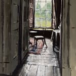 Welsh interior house painting