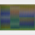 Carlos Cruz-Diez, Transchromie á six elements , 1965-2010