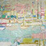 Andre Cottavoz (1922-2012), Port de Cannes, 1955