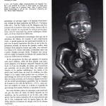 Seated Bakongo Fetish as published in volume two of Art Bakongo