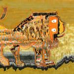 ELHAM ROKNI, Lions Wall Rug, 2017