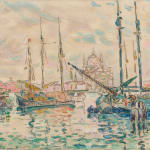 André Derain, Le Port de Collioure, 1905