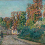 Armand Guillaumin, Moulins en Hollande, c.1904