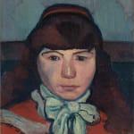 Emile Bernard, Portrait de Marie Lemasson, 1887
