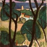 André Derain, Vue de la Madrague, 1922