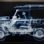 Nick Veasey, 1972 Land Rover Series 3 Surfer