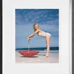 Sale, Edward Weston Collection - Polka Dot Umbrella, Tobay Beach, 1949