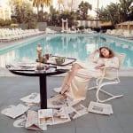 Terry O'Neill, Faye Dunaway (72x72 in), 1977