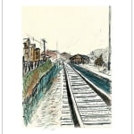 Bob Dylan, Train Tracks (set of 4), 2008