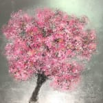 Daniel Hooper, Blossom (Sliver leaf), 2018
