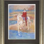 John Myatt, Harlequin On Horse - Original