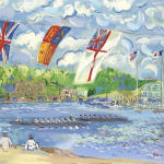 John Myatt, Regatta On The Thames