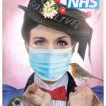 JJ Adams, Stay Home Lives (Colour Mary Poppins Exclsuive NHS Tattoo - Small, 2020