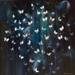 Daniel Hooper, Flutter by Night, White, 2019