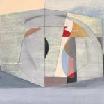 John Myatt, Still Life with Oval Motif, 1956 - original, 2003