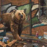 Paul James, Grizzly - Canvas, 2017