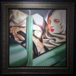 Peter Osborne, Tamara De Lempicka - Self Portrait In A Green Bugatti, 2017