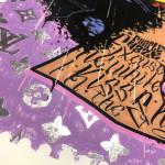 JJ Adams, Purple Haze - Jimi Hendrix /Rock Icon Stamp, 2020