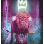 JJ Adams, King of The (Urban) Jungle - Blue, 2021