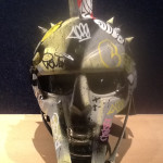 Vandal Helmet - Yellow/Grey