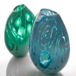 Michele Oberdieck, Emerald Pod (left)
