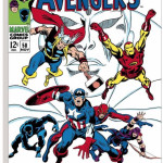 The Avengers #58 - The Avengers Assemble (canvas)
