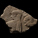 Egyptian relief fragment, Old Kingdom, late 5th Dynasty, c.2400 BC