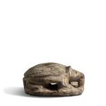 Egyptian hedgehog scaraboid, Late Dynastic Period, 25th-26th Dynasty, c.747-525 BC