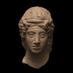 Greek head of a youth, Medma, third quarter of the 5th century BC