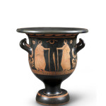 Greek red-figure bell-krater, Apulia, c.350-340 BC,by the Varrese Painter