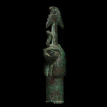 Egyptian Horus-headed harpoon, Late Dynastic Period, 26th-31st Dynasty, 747-332 BC