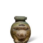 Greek hedgehog aryballos, Rhodes, c.600-550 BC